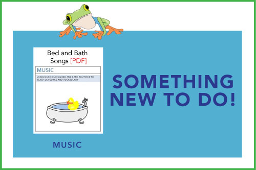 Something New To Do! Bed and Bath Songs