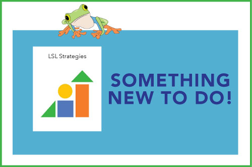 Something New To Do! Indicating a new material is available: LSL Strategies