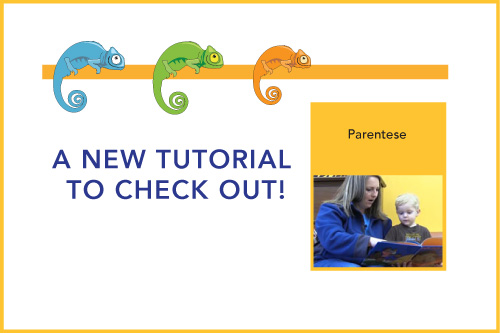 A New Tutorial to Check Out! Parentese