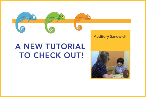 A New Tutorial to Check Out! Auditory Sandwich