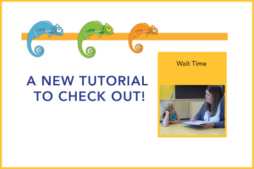 A New Tutorial to Check Out! Wait Time