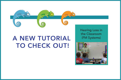 A New Tutorial to Check Out! Hearing Loss in the Classroom (FM Systems)