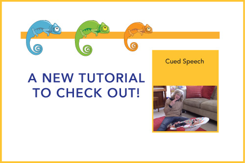 A New Tutorial to Check Out! Cued Speech
