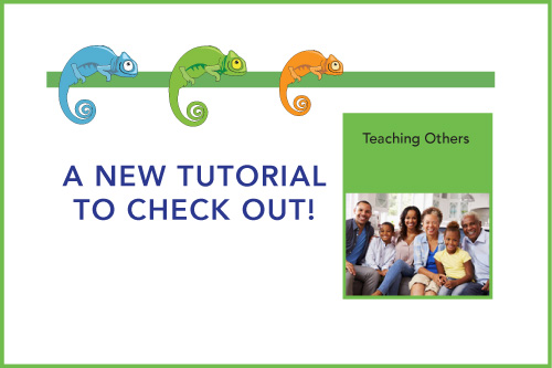 A New Tutorial to Check Out! Teaching Others