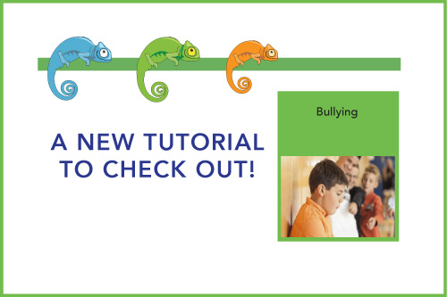 A New Tutorial to Check Out! Bullying