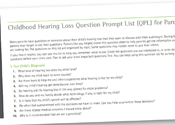 Question Prompt List for Audiologists